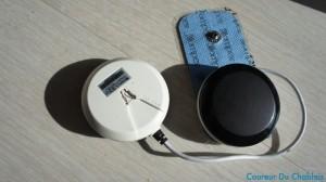les blocs et les electrodes (en bleu)