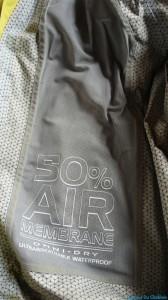 Membrane 50% air