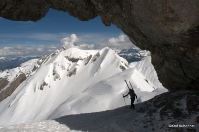 du ski alpinisme,