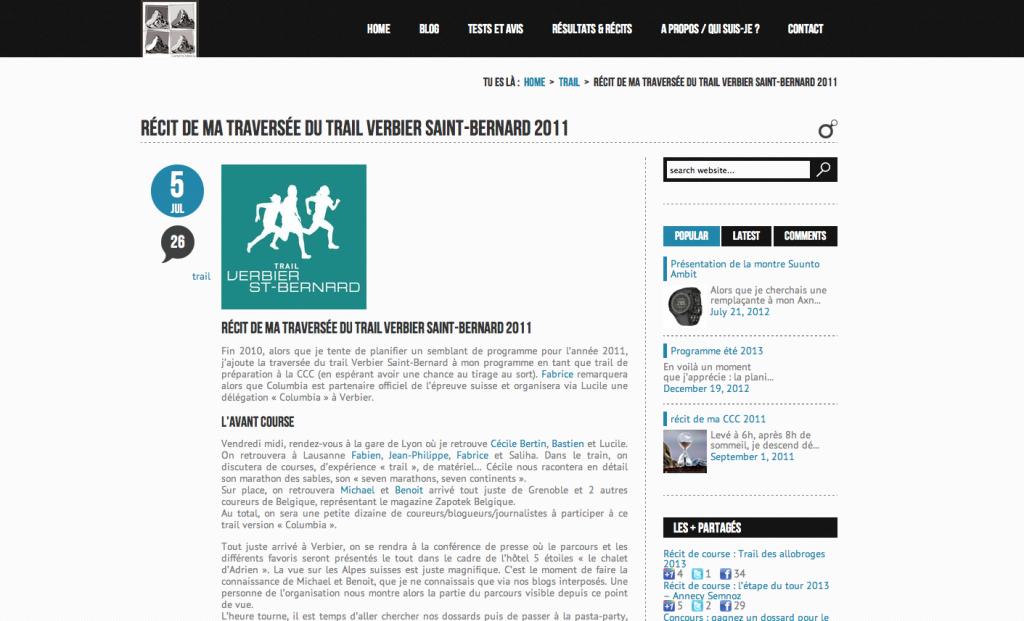 Récit - traversée Verbier - Saint Bernard